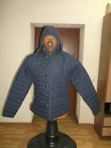 New Medievel Gambeson Blue Color Movies Theater Custome Sca larps