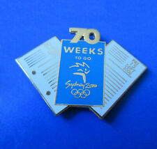 70 Weeks to Go Pin - Weeks to go Pin Series - Sydney Summer Olympics
