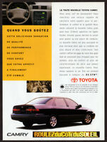 1986 MERCEDES 190E Vintage Original Print AD Black sedan car photo French Canada