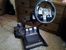 Logitech G920 Steering Wheel/Shifter for Xbox One PC And [Gt Omega Racing Stand]