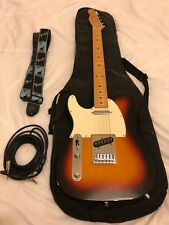 Fender telecaster-Left Handed-Three Colour ramenée-used: Great condition