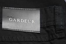 Gardeur 38 X 32 Black Medium Weight 97% COTTON Stretch NIGEL Jean Regular Fit