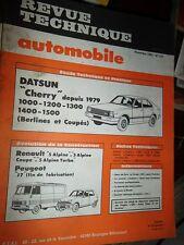 Datsun CHERRY 1000-1200-1300-1400-1500 : revue RTA 427