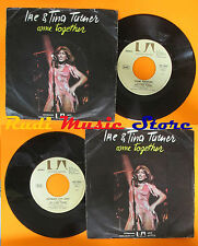 LP 45 7'' IKE & TINA TURNER Come together Nutbush city 1976 italy UA cd mc dvd