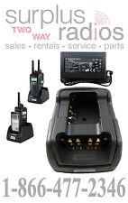 DUAL RADIO TWC2M MOTOROLA MOTOTRBO CHARGER KIT XPR6300 XPR6550 XPR6350 XPR6580