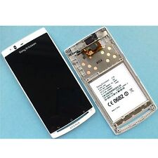 Genuine Sony Xperia Arc S x12 Numériseur Touch Screen Glass + LCD DISPLAY lt18i