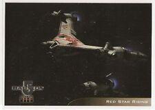 Babylon 5 Season 4 Trading Cards Starfury Aviation Art Chase Card V6 Red Star