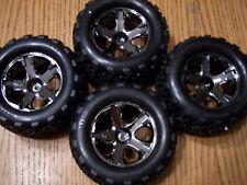 4 NEW Traxxas VXL Brushless 6708 Stampede 4x4 Talon Tires & Wheels Tire Wheel