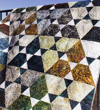 Lotus - geometric modern pieced quilt PATTERN - Jaybird