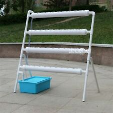 Soilless Cultivation Pipe Ladder Plant  Machine 36 Holes Rack Hydroponics System