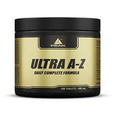 Peak Ultra A/Z Multivitamin 14 Mineralien & Spurenelemente 150 Tabletten A bis Z