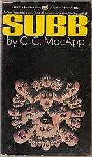 SUBB (1971) C.C. MacApp / Paperback Library 64-532 / Science Fiction PBO