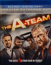 THE A TEAM NEW BLU RAY UNRATED MOVIE BRADLEY COOPER LIAM NEESON RAMPAGE JACKSON