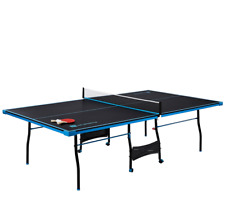 MD Sports Official Size 15mm 4 Piece Indoor Table Tennis, Accessories Included,