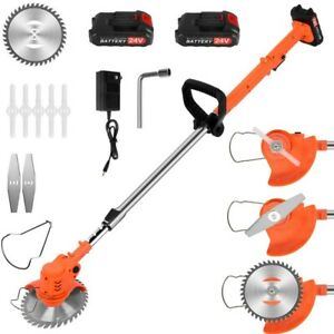 Cordless Grass Trimmer String Trimmer Edge Trimmer Bush Trimming Lawn Weed Eater
