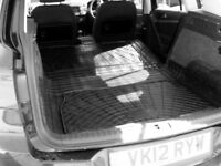 Volkswagen VW Tiguan 2007-2017 natural rubber boot liner load area mat pair