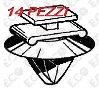 Molla fissaggio modanatura fiancata Fiat Stilo / Ducato / 500 L / JEEP RENEGADE