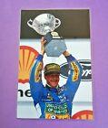 Bild laminiert 18x27 Michael Schumacher Benetton Ford, Formel 1 Weltmeister 1994