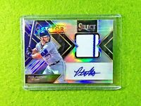 PETE ALONSO AUTO JERSEY CARD PRIZM PATCH 1/75 HOLO AUTOGRAPH  2020 Panini Select