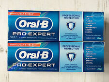 Oral-B Pro-Expert Fluoride Toothpaste with Sugar Shield Clean Mint 75ml x2