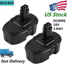 DC9096 Replace for Dewalt 18V Battery 3.0Ah NIMH DW9095 DE9039 DE9096 Power Tool
