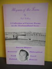 Rhymes of the Times:A Collection of Current Poems on the Newfoundland Scene