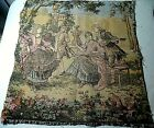 VINTAGE EARLY 1900'S TAPESTRY COLONIAL SERENADE AND DANCE