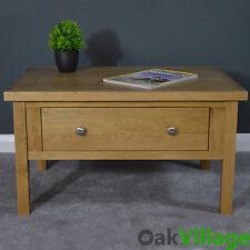 Oak Coffee Table Storage  / Living Room / Solid Wood Hardwood Oakley