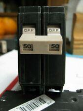 Cutler Hammer 50 Amp 2-Pole Circuit Breaker Type CH250