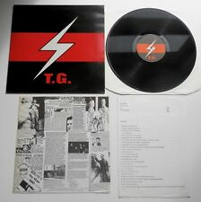 Throbbing Gristle - 2nd Annual Report UK 1979 Fetish Reissue Recut LP+ 2 Inserts