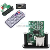 5V 12V Mini MP3 Player Module with USB WAV Decoding Board+ IR Remote Controller
