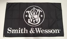 Smith And Wesson Banner Flag - Rifle Shotgun Ammo Gun Magnum Ammunition Man Cave