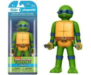 Funko Playmobil TMNT Ninja Turtles Leonardo Collectible Figure