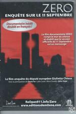 DVD ZERO Enquête sur le 11 Septembre NEUF