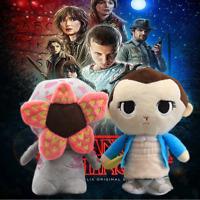 Stranger Things 3 Eleven with Eggo Demogorgon Plush Toys Soft Stuffed Doll GiftA