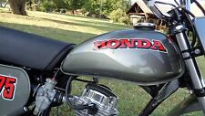RUBBER GRAY Custom Mix Paint for Honda Motorcycles- AEROSOL - XR75 K0 K1