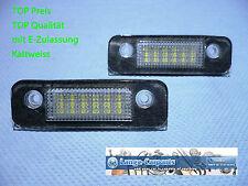 LED Kennzeichenbeleuchtung Ford Fiesta 2002-2008 + Fusion + Mondeo II + TÜV-FREI