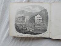 Album contenente 24 tavole con vedute passaggio del Sempione, Lago Maggiore, etc