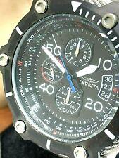 Invicta Men's Watch 25464 Bolt Chronograph Black Dial Stainless Steel Quartz