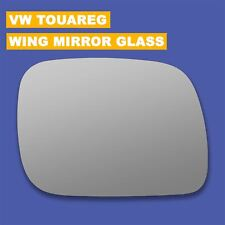 VW TOUAREG RIGHT WING MIRROR GLASS CHROME HEATED ASPHERICAL ds ;;;