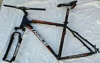 "Triace Stormount Hardtail Mountain Bike Frame, Fork and Extras 26"" x 16"" Medium"