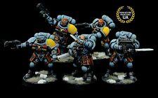 Warhammer 40k Space Wolves Primaris infiltradores M1 Pro-Pintado