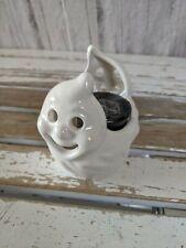 Mini ghost candle holder fall Halloween home decor