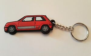 Renault 5 Gt Turbo Key Anello Red Phase 2