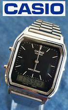 Retro style Casio AQ-230 mod. 1301 unisex quartz analog digital wristwatch