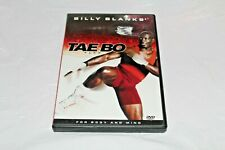 Billy Blanks Tae Bo Flex DVD 2003 For Body Mind Aerobics