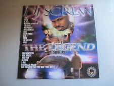 "DJ SCREW ""The Legend"" 12"" X 12"" Poster Flat Houston Texas"