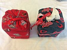 Fabric Tissue Box Covers for Square Tissue Box Kleenex, 30 Assorted patterns