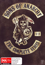 Sons of Anarchy: The Complete Series - Season 1 - 7  - DVD - NEW Region 4