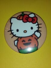 Hello Kitty - Pumpkin Halloween Pins/Buttons